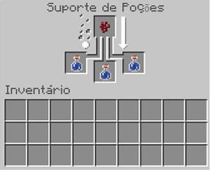 como fazer poções no minecraft / Leandro Kovacs / Screenshot