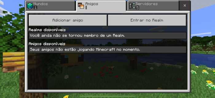 Como jogar Minecraft online [Multiplayer] / Felipe Vinha / Reprodução