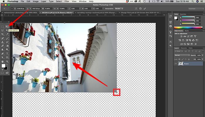 Como redimensionar uma imagem no Photoshop