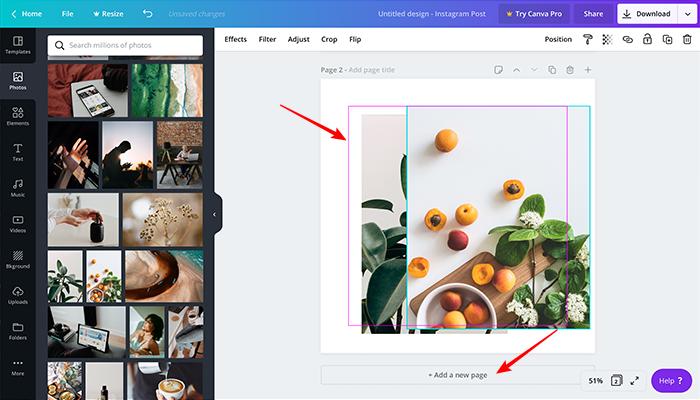 Como usar o Canva para editar fotos