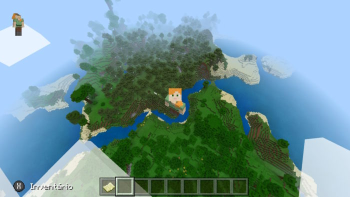 Como voar no Minecraft / Felipe Vinha / Reprodução