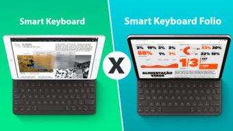 O que muda do Smart Keyboard para o Smart Keyboard Folio?