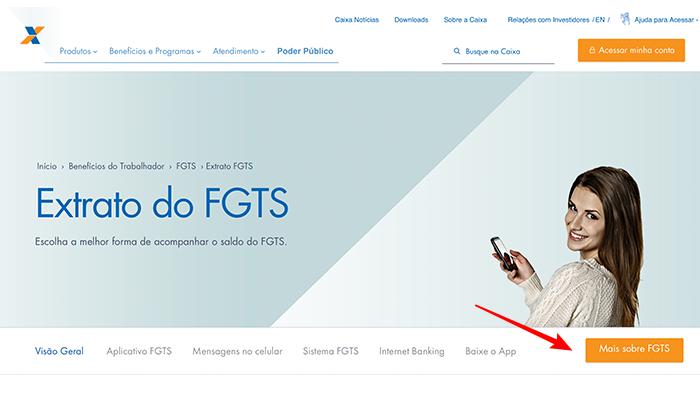 Como consultar o saldo do FGTS