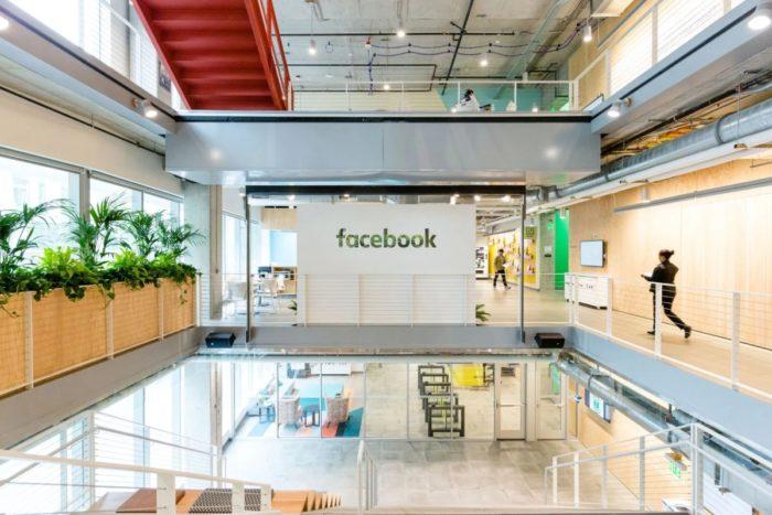 Escritório do Facebook em Seattle, nos EUA (Imagem: Divulgação)