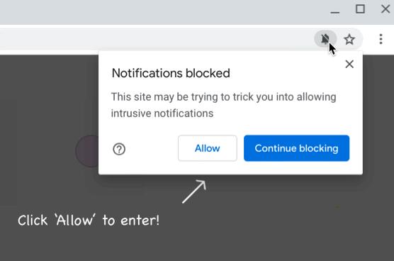 Ativação de notificação do Google Chrome 84 (Foto: Divulgação/Google)