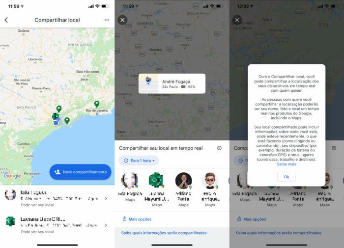google maps novo app