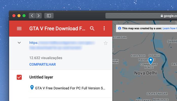 Google Maps mostra links para GTA 5 pirata e download de filmes | Internet | Tecnoblog