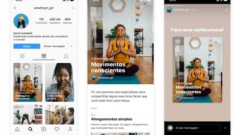 Instagram lança Guias para conteúdo selecionado de bem-estar