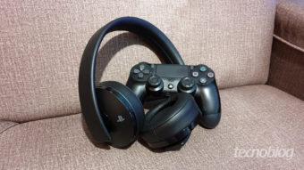 Headset Sony Série Ouro: é bom, mas poderia ser melhor