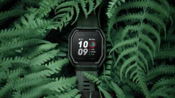 Huami Amazfit Ares é um smartwatch com GPS e bateria de 13 dias