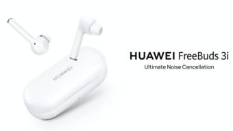 Huawei FreeBuds 3i têm cancelamento ativo de ruído e preço baixo