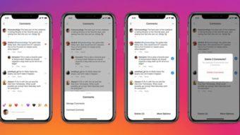 Instagram permite apagar comentários em massa e destacar favoritos