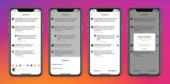 Usuários do Instagram para Android e iPhone poderão apagar mais de um comentário ao mesmo tempo na rede social (Foto: Divulgação/Instagram)