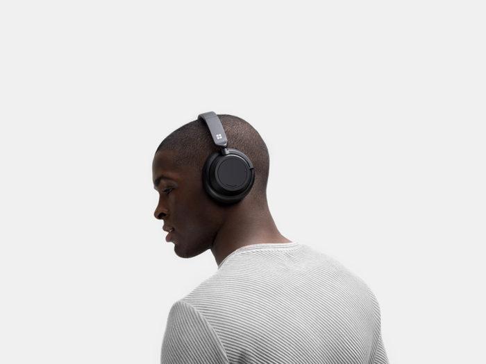microsoft surface headphones 2 cabeça