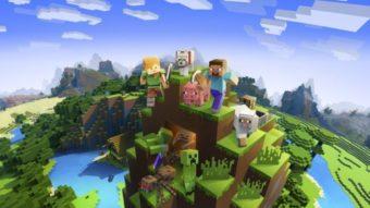Como fazer blocos de concreto no Minecraft