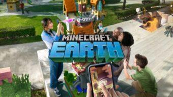 Minecraft Earth ou Dungeons; qual a diferença?