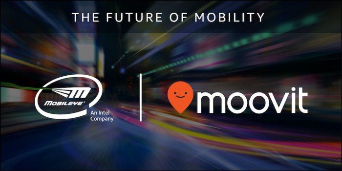 Moovit + Intel + Mobileye