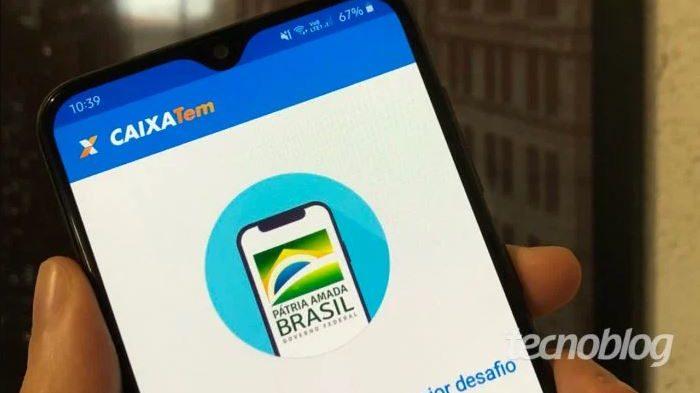 Aplicativo Caixa Tem (Imagem: Lucas Lima/Tecnoblog)
