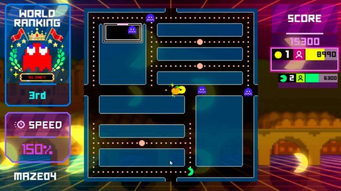 Endless Mode do Pac-Man Live Studio