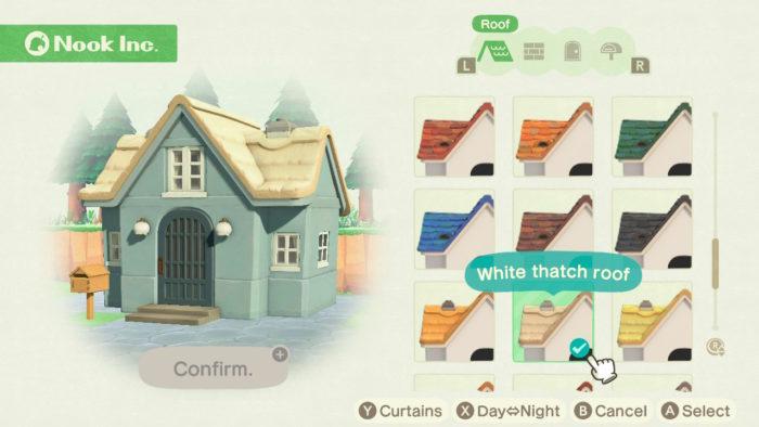 Personalização da casa em animal crossing new horizons