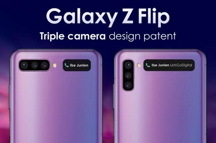 Visual do possível Samsung Galaxy Z Flip 2 (Foto: Reprodução/LetsGoDigital)