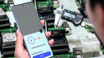 Samsung Galaxy A Quantum tem chip de segurança quântica