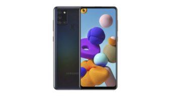 Samsung Galaxy A21s deve ter câmera quádrupla de 48 MP