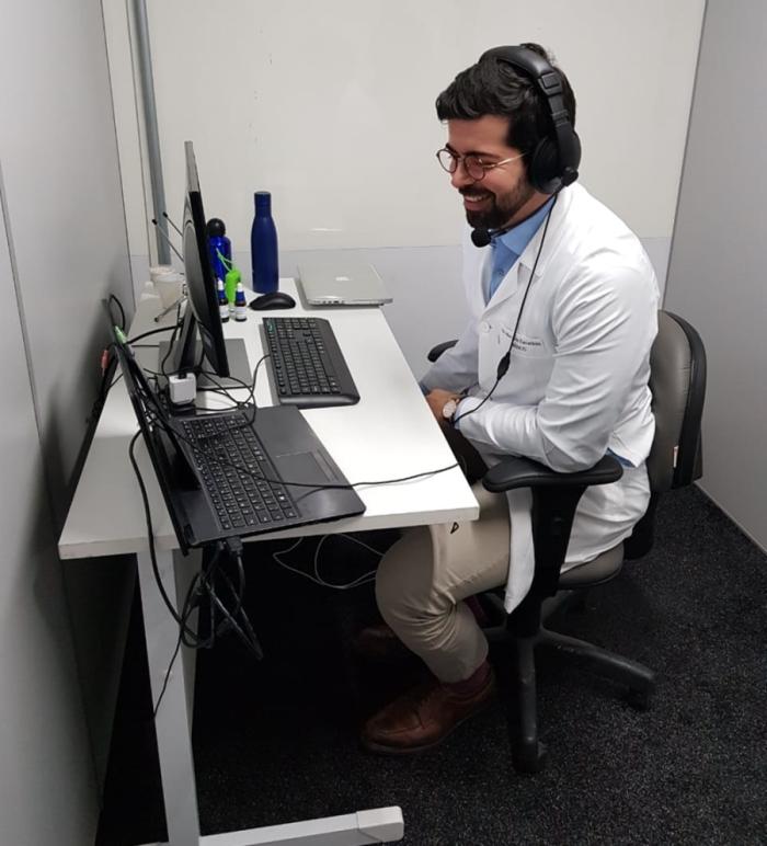 Orientação médica a distância (foto: dr.consulta)