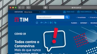 TIM aceita auxílio emergencial em fatura do pós-pago e recarga