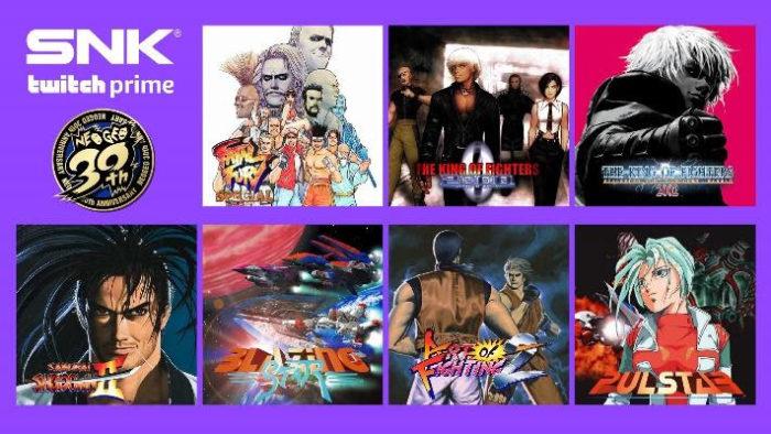 Twitch Prime ganha jogos de Neo Geo