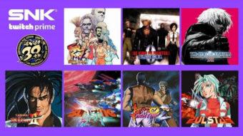 Twitch Prime ganha sete jogos grátis de Neo Geo para PC