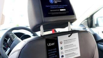 Uber monta centro de higienização de carros para parceiros em SP