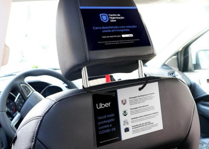 Uber - proteção contra COVID-19