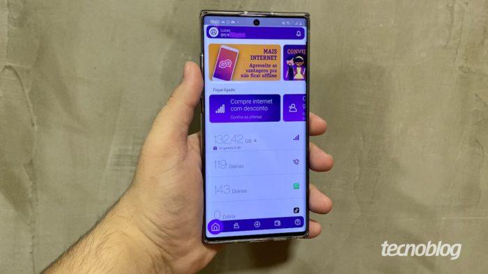 Aplicativo do Vivo Easy no Android