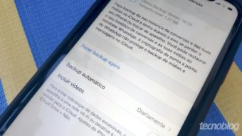 WhatsApp para iPhone terá opção de senha em backup no iCloud