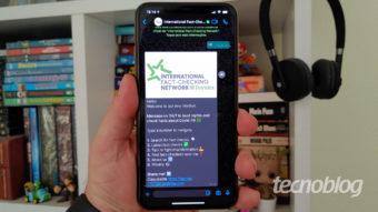 WhatsApp tem novo bot contra notícias falsas sobre COVID-19