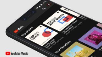 YouTube Music importa biblioteca e uploads do Google Play Música