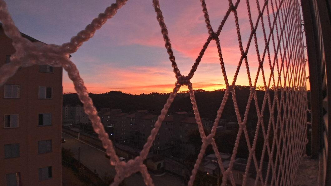 Sunset photo taken with LG K51S
