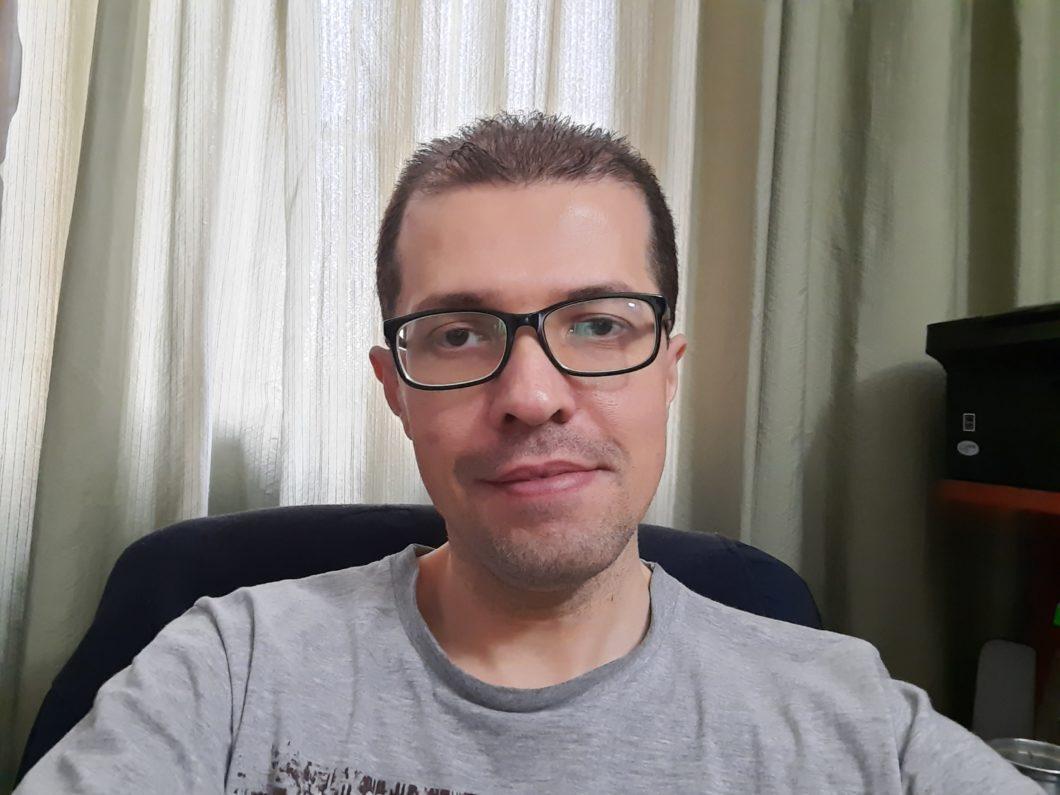 Selfie feita com o Galaxy A51