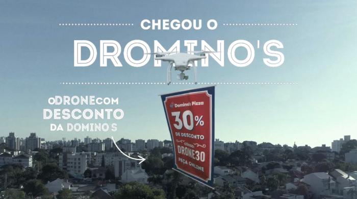 acao dominos drone
