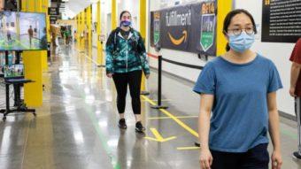 Amazon usa realidade aumentada em armazéns para manter distanciamento