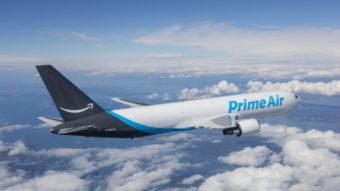 Amazon Air expande frota com doze aviões Boeing 767-300