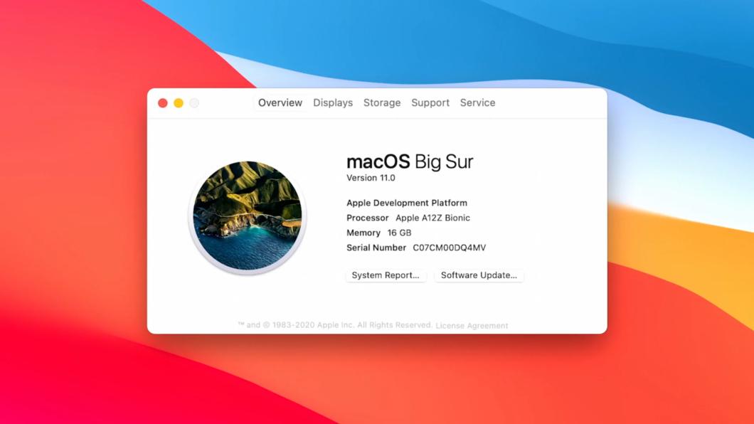 macOS Big Sur (ARM)