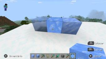 Como conseguir blocos de gelo no Minecraft [Gelo azul]