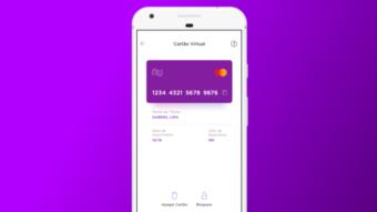 Nubank permite criar cartão virtual de débito para compras online