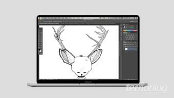 Como desenhar no Photoshop [Brush & Pen]