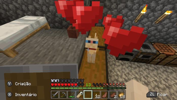 Como domesticar um gato no Minecraft / Felipe Vinha / Reprodução
