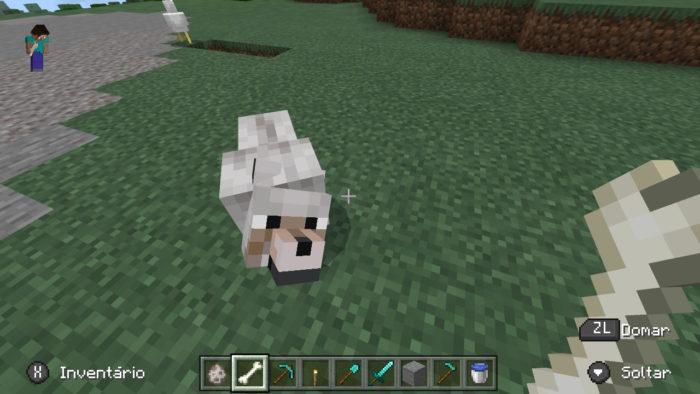 Como domesticar um lobo no Minecraft / Felipe Vinha / Reprodução