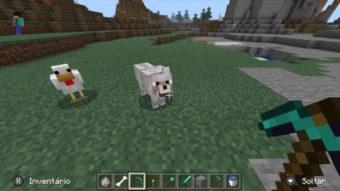 Como domesticar um lobo no Minecraft [Alimentar, dar nome e adestrar]
