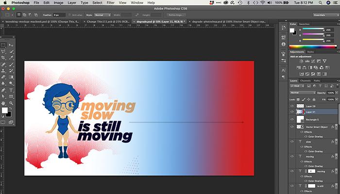 Como fazer degradê no Photoshop